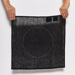 Sanctuary Black Linen Napkin