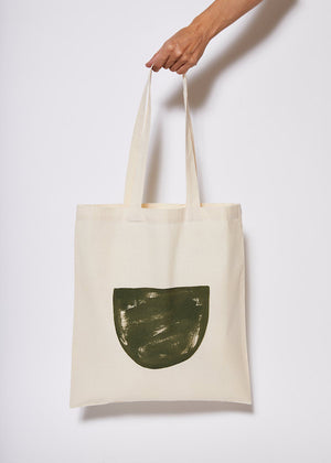 Reusable Tote Bag - Half Full