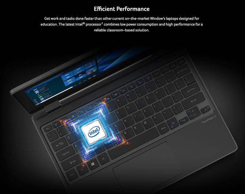 Acer Travelmate Education Pro B3 - INTEL CELERON + SSD