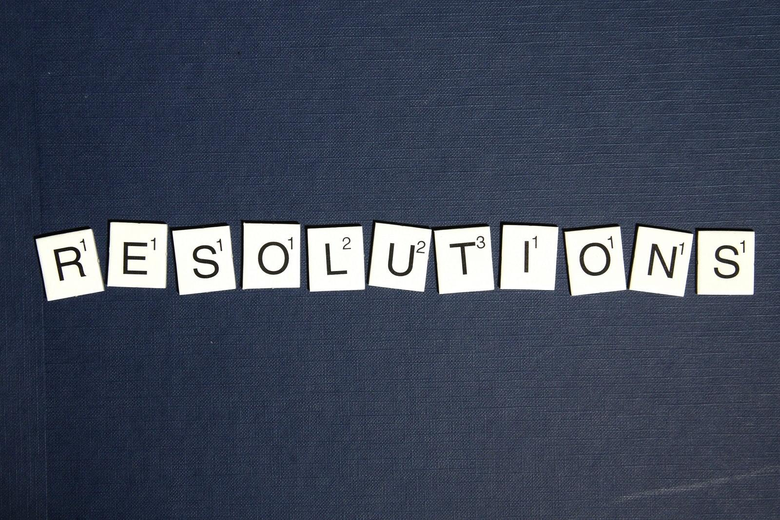 New Year's Resolutions for the Whole Family