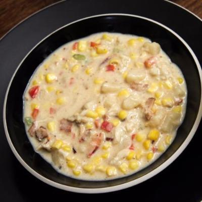 Old Bay Crab Chowder