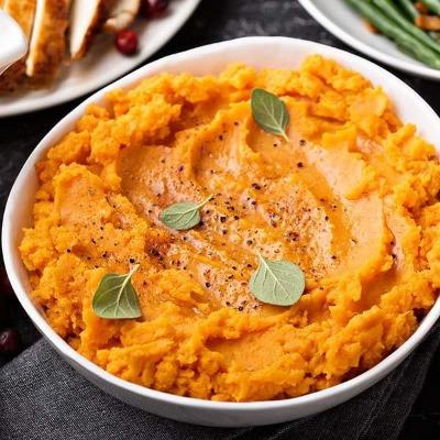 Brown Sugar Mashed Sweet Potatoes