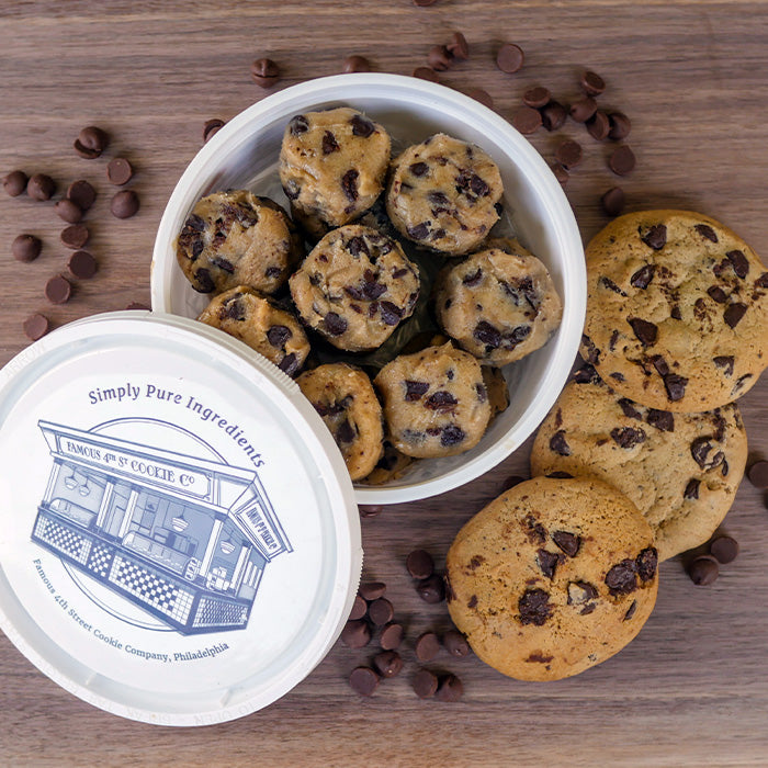 Famous 4th Street Chocolate Chip Cookies