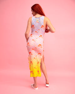 Alphabetti Sundae Column Dress