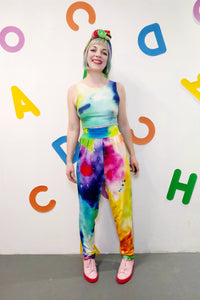 Painted Love Crop Vest