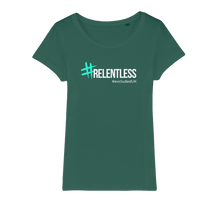 Load image into Gallery viewer, Relentless Organic Jersey Womens T-Shirt