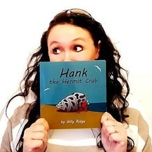 Load image into Gallery viewer, 'Hank the Hermit Crab' Children's Book