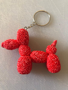 Balloon Dog Key Ring from Caroline's Creations
