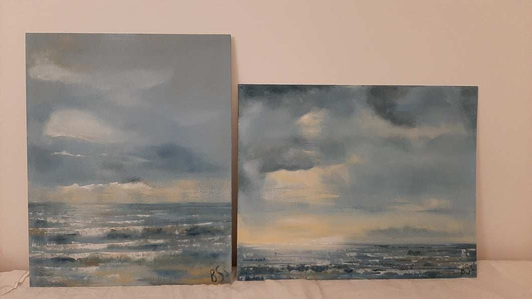 Pair of Original Paintings by Beth Sheldrake