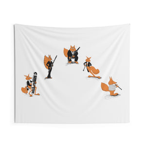 Double Reed Ensemble Indoor Wall Tapestry