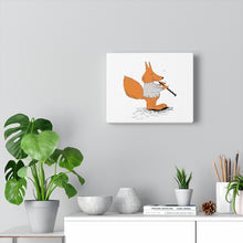 Load image into Gallery viewer, Canvas Gallery Wraps - Oboe Sweater Fox