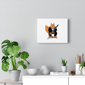 Canvas Gallery Wraps - Bassoon Tuxedo Fox