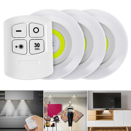 Remote Controlled Wireless LED Lights
