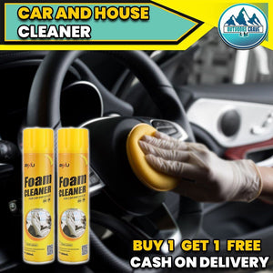 CAR & HOUSE FOAM CLEANER (BUY 1 TAKE 1 PROMO)