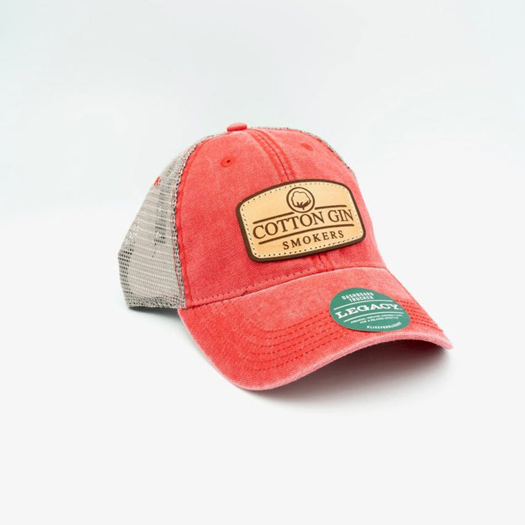 Cotton Gin Red Legacy Hat