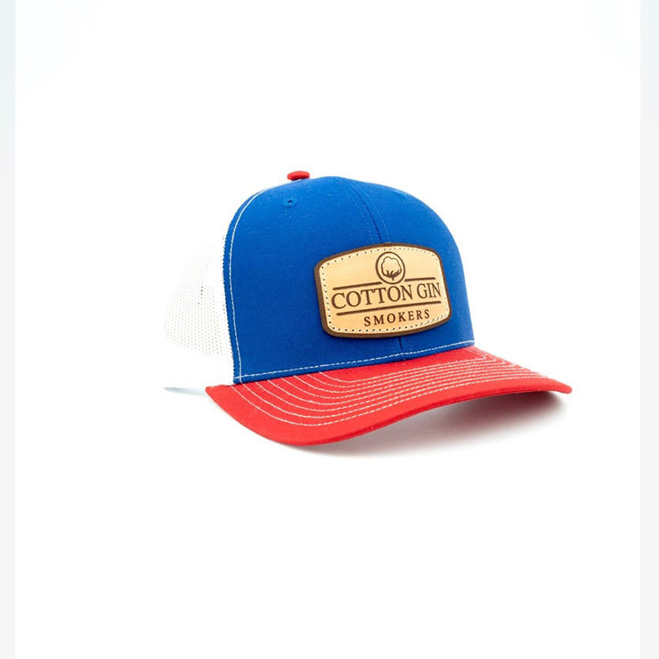 Cotton Gin Patriot Hat