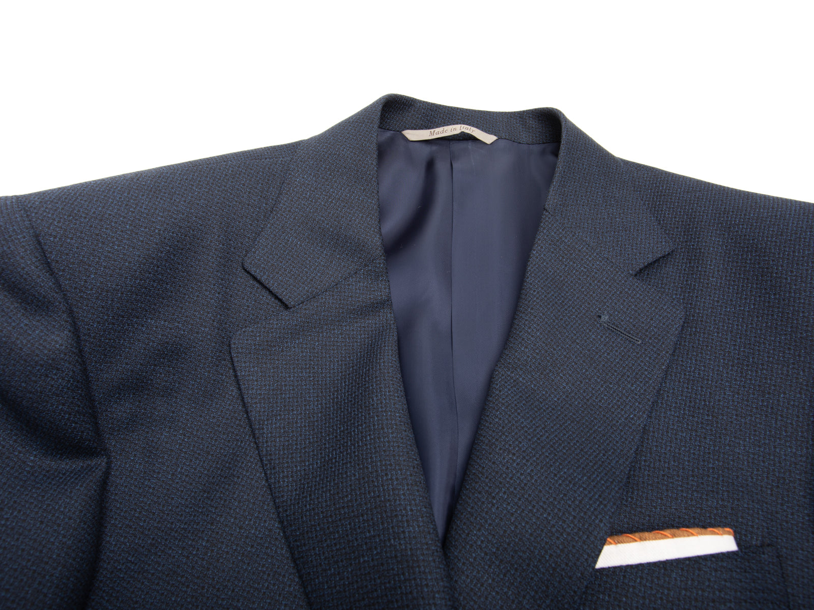Indigo Neat Suiting