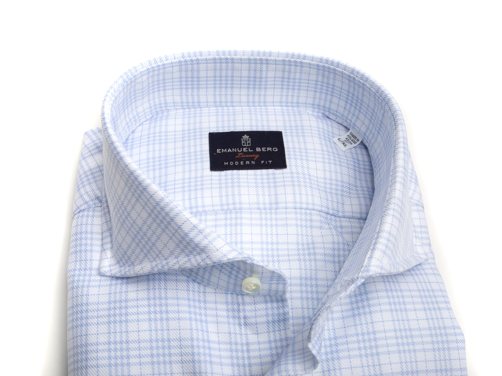 White Ground Glen Plaid