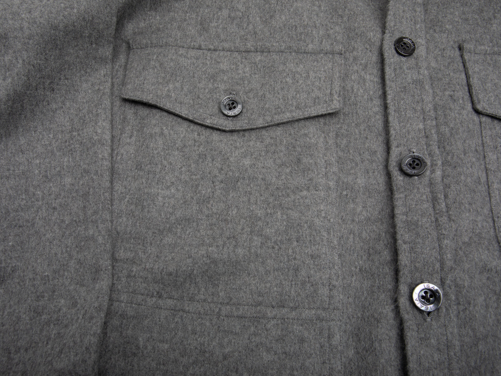 4-Pocket Wool-Cashmere Overshirt