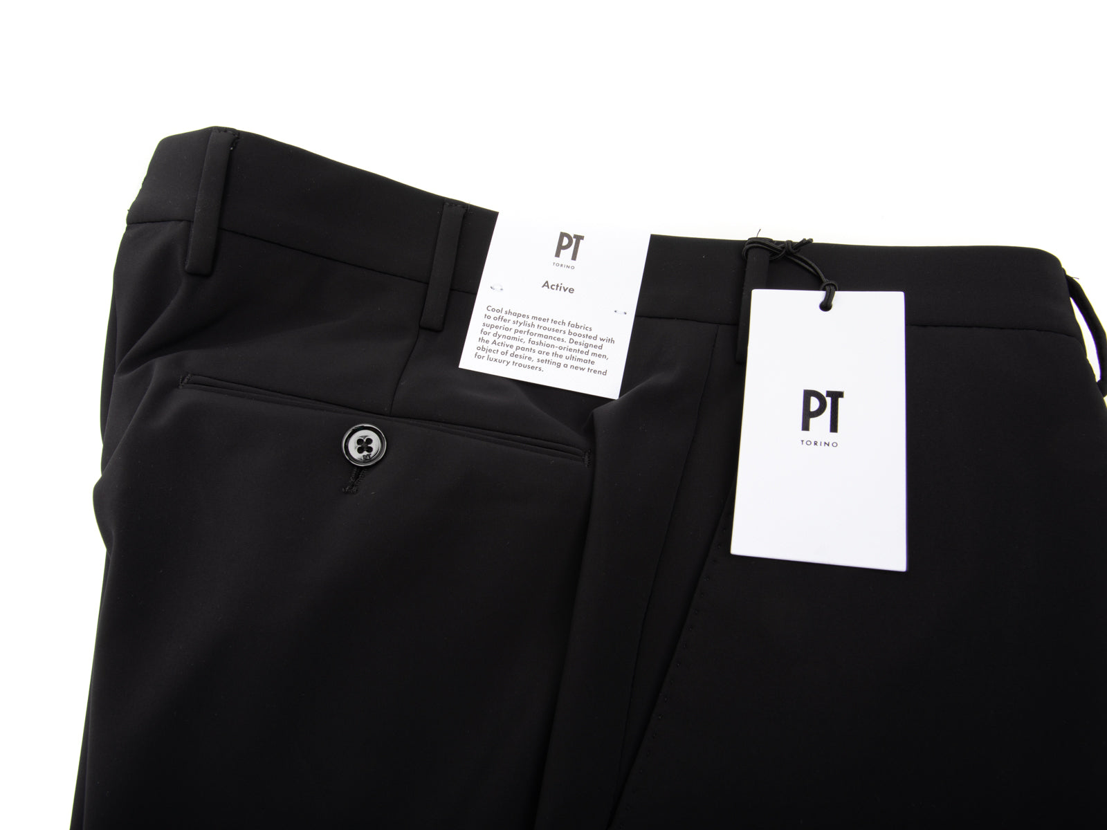 "Black Kinetic ""Active"" Trouser"
