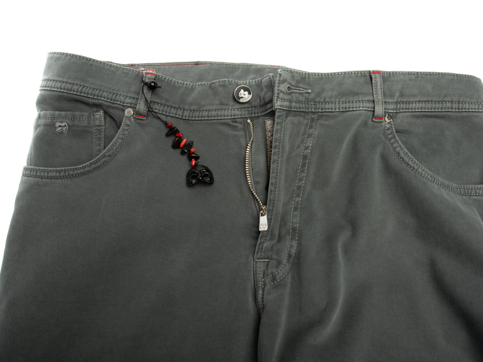 Cashmere/Cotton Stretch Twill 5 Pocket