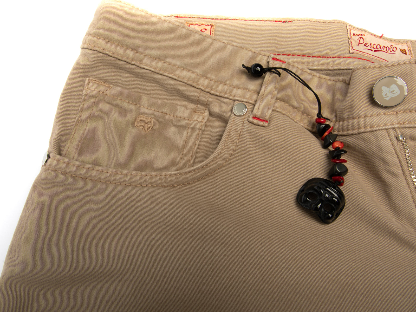Cotton/Cashmere Stretch Twill 5 Pocket