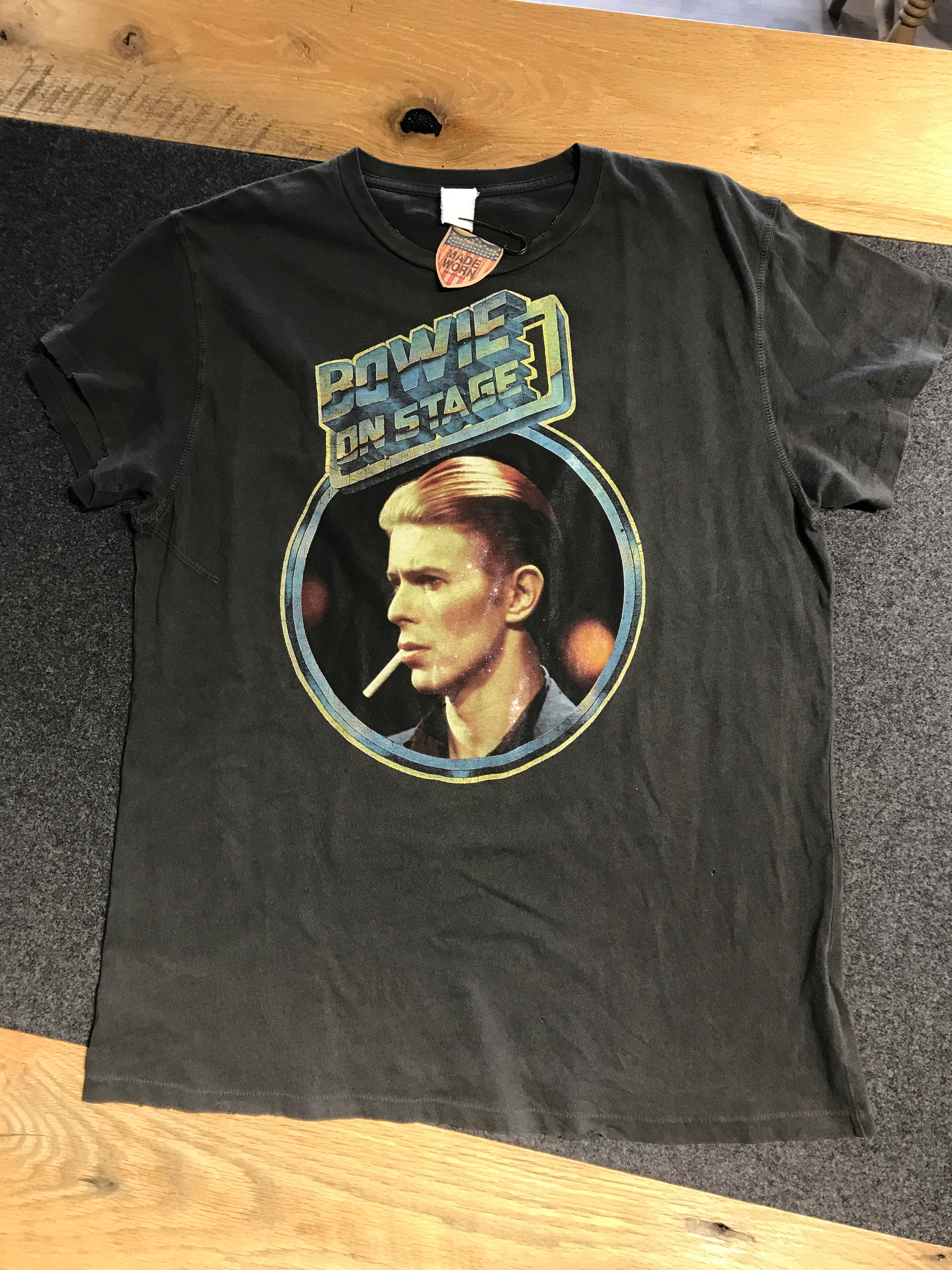 Bowie On Stage T-Shirt