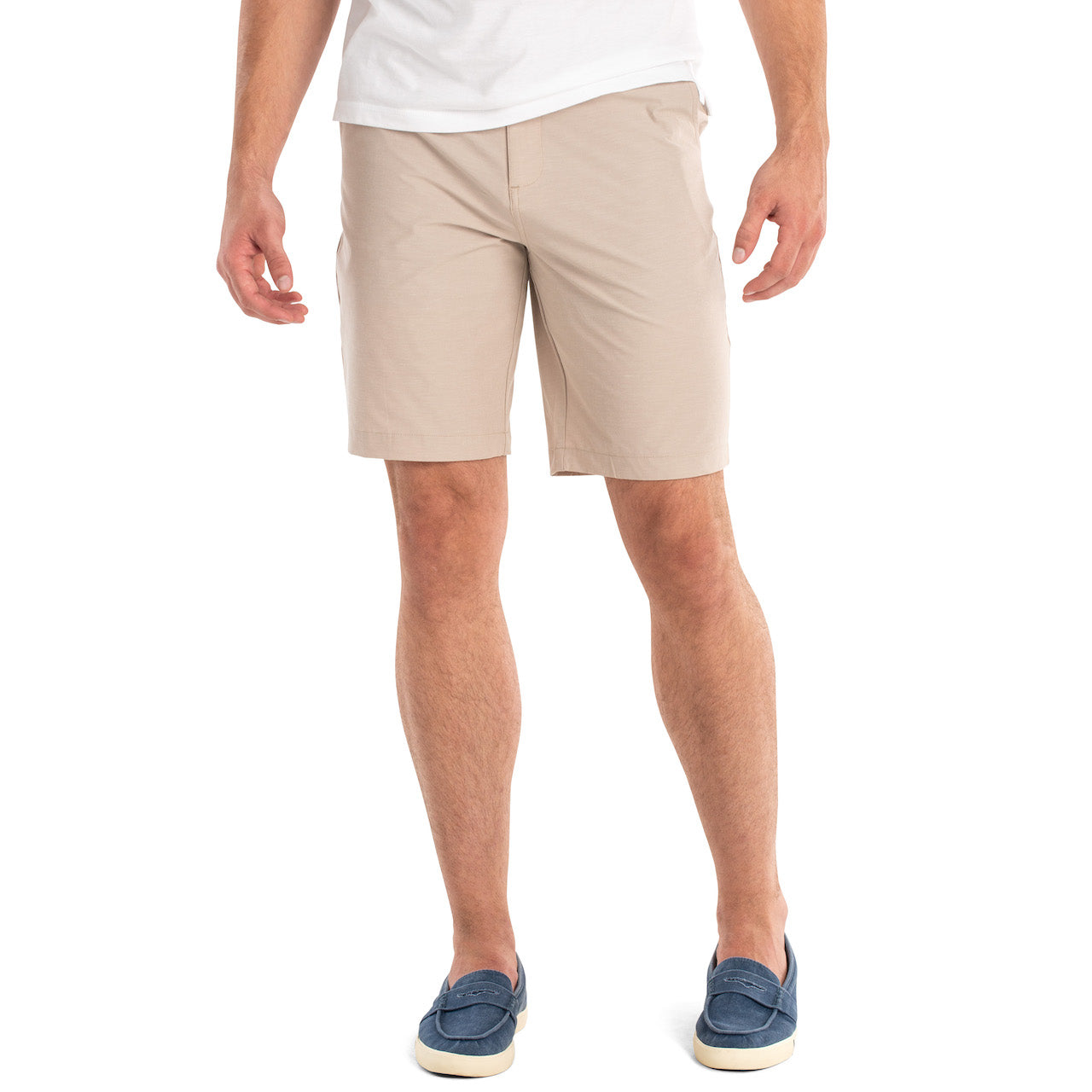 Wyatt Prep-Formance Shorts in Quarry in Stone