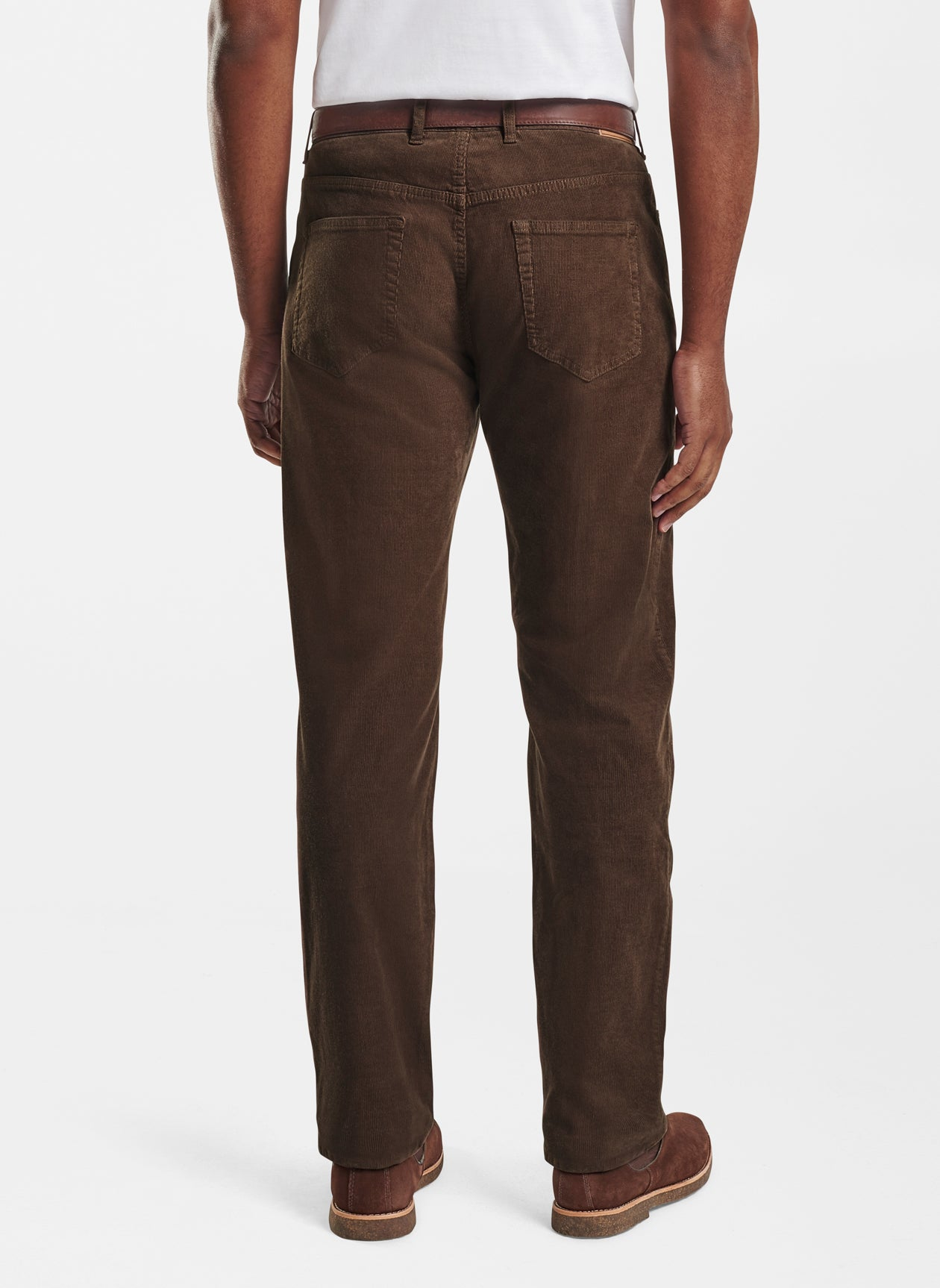 Superior Soft Corduroy Five-Pocket Pant - Carob Brown