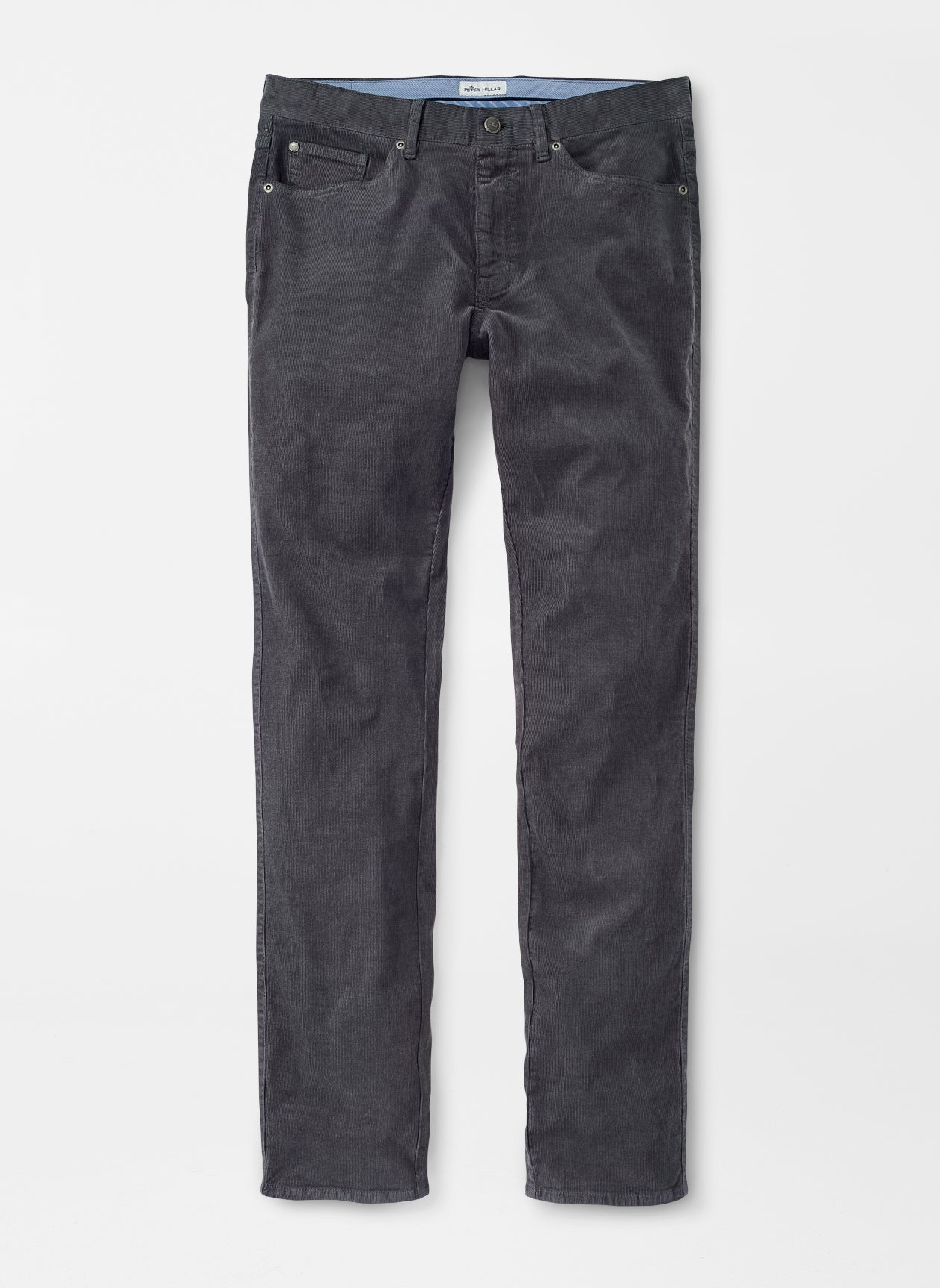 Superior Soft Corduroy Five-Pocket Pant - Smoke