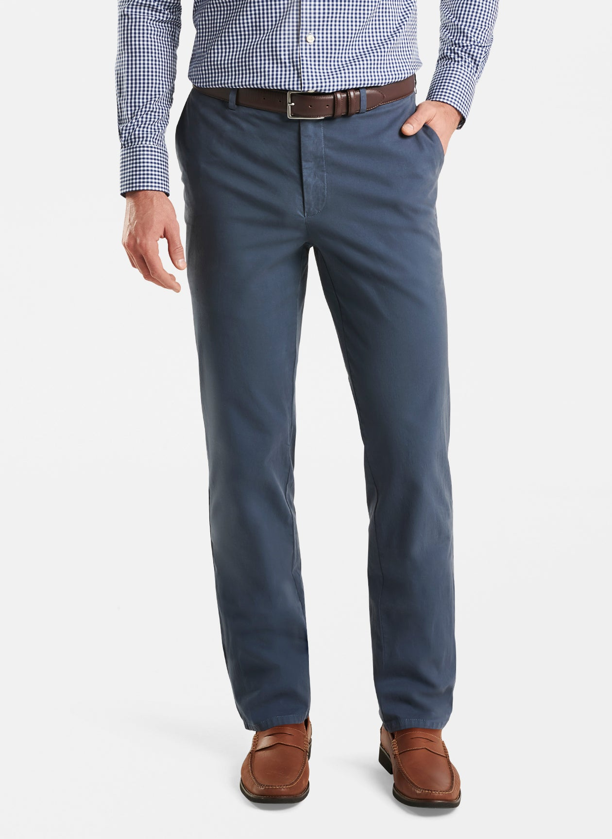 Flannel Five-Pocket Pant in Iron