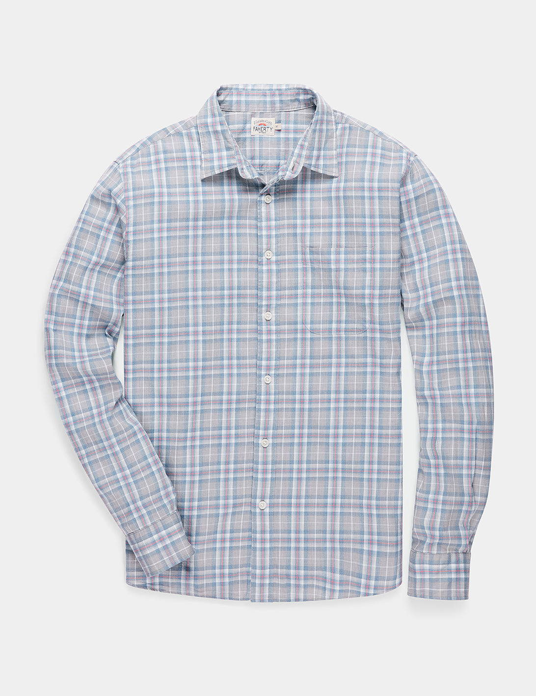 Heathered Movement Shirt in Monterey Plaid