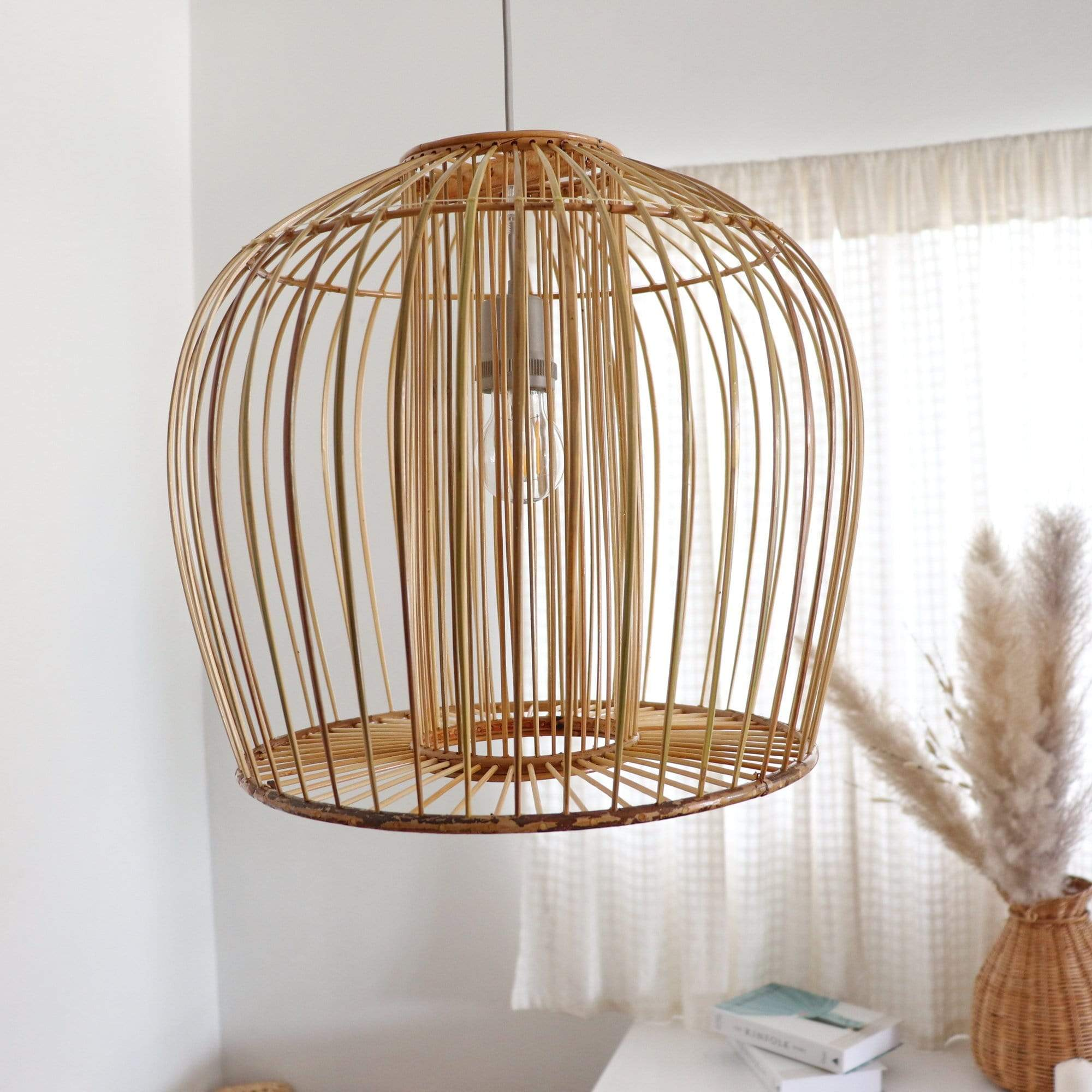 THAIHOMESHOP Bamboo Pendant Light BOONTA - BAMBOO PENDANT LIGHT