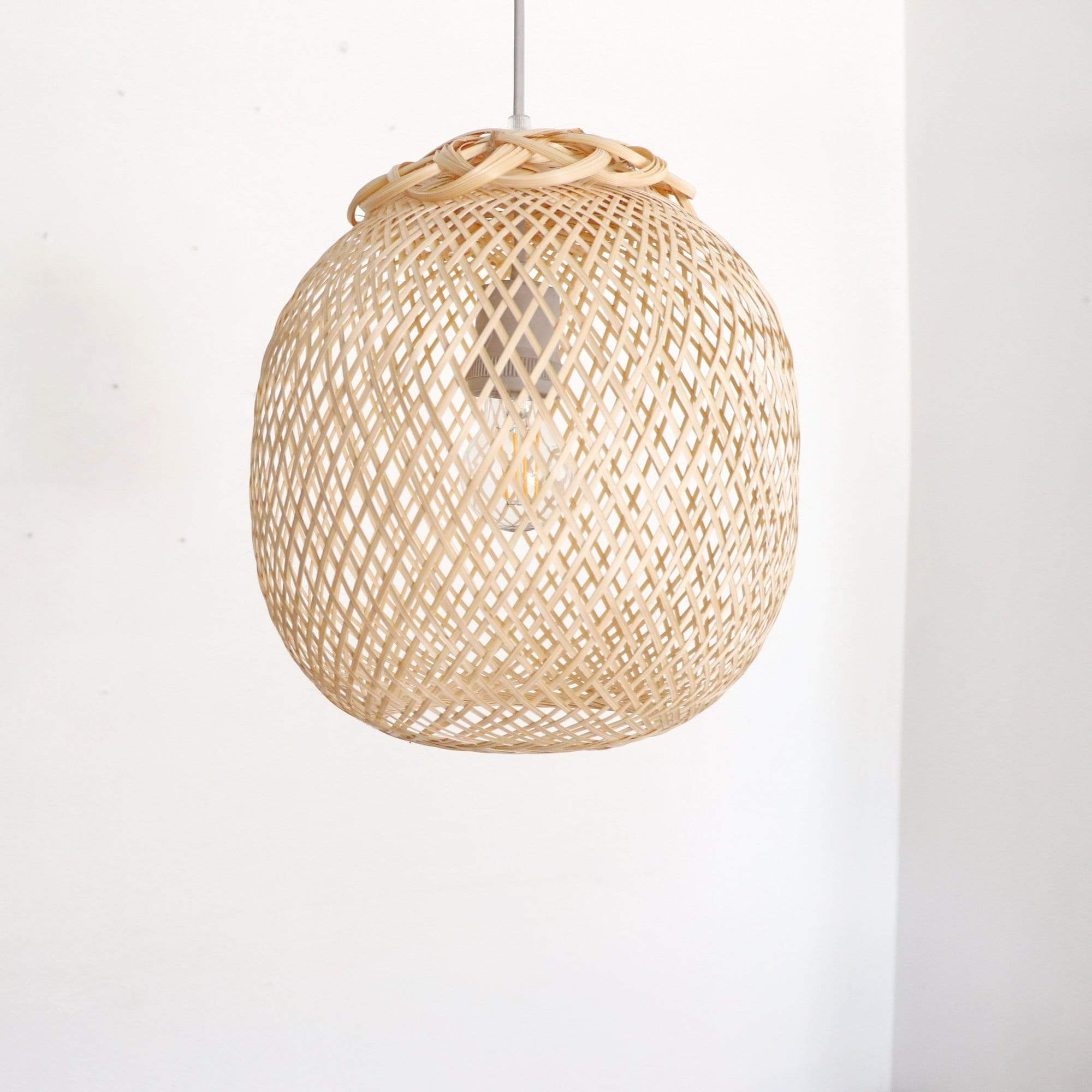 THAIHOMESHOP Bamboo Pendant Light DARA - BAMBOO PENDANT LIGHT