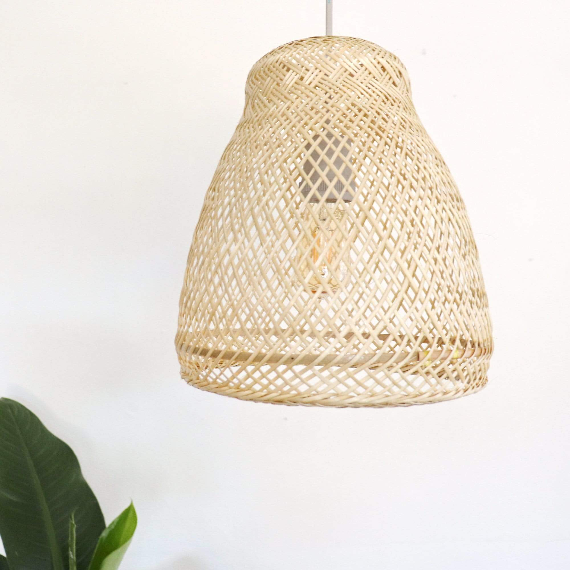THAIHOMESHOP Bamboo Pendant Light MUNTANA - Bamboo Pendant Light shade