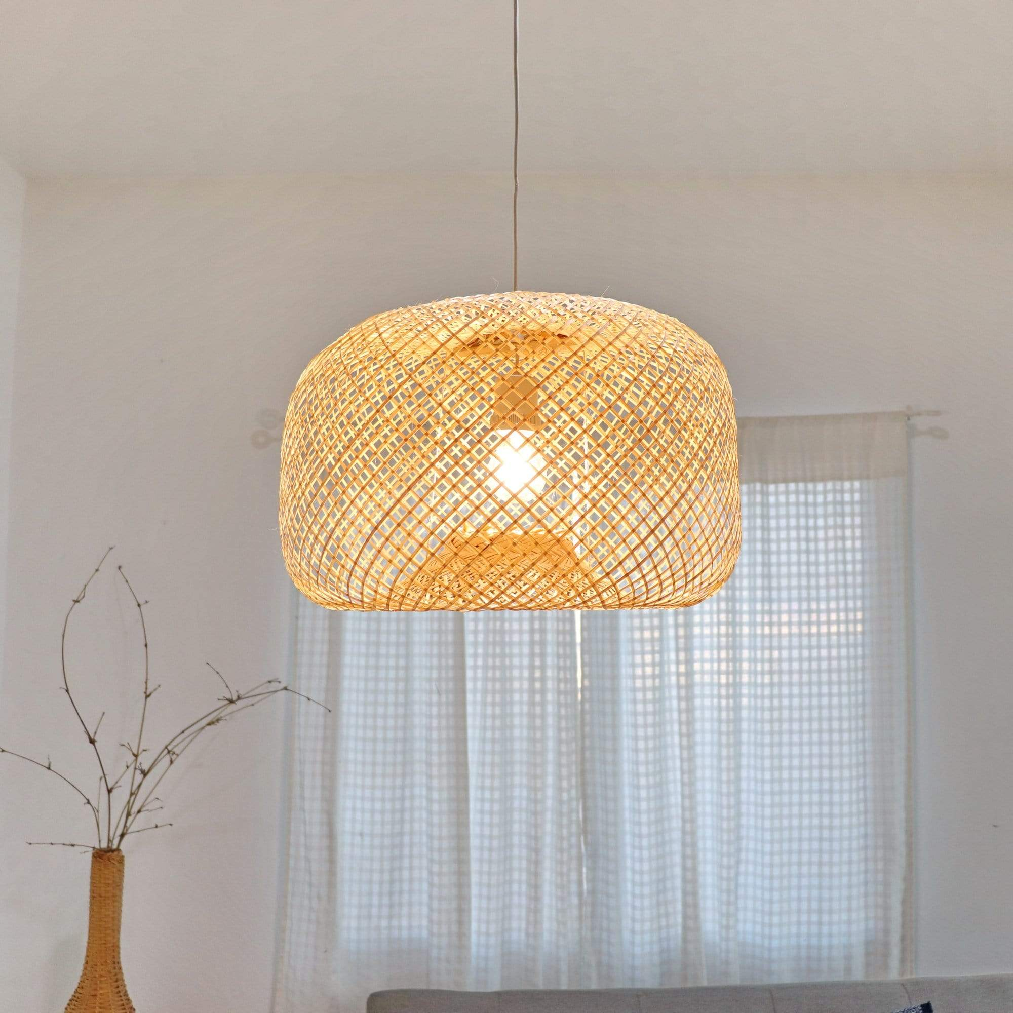 THAIHOMESHOP Bamboo Pendant Light PATTRANAN - BAMBOO PENDANT LIGHT