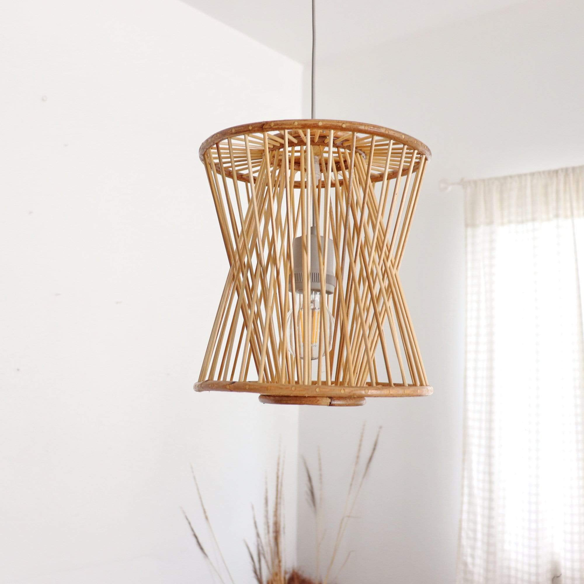 THAIHOMESHOP Bamboo Pendant Light SANGTHONG - BAMBOO PENDANT LIGHT
