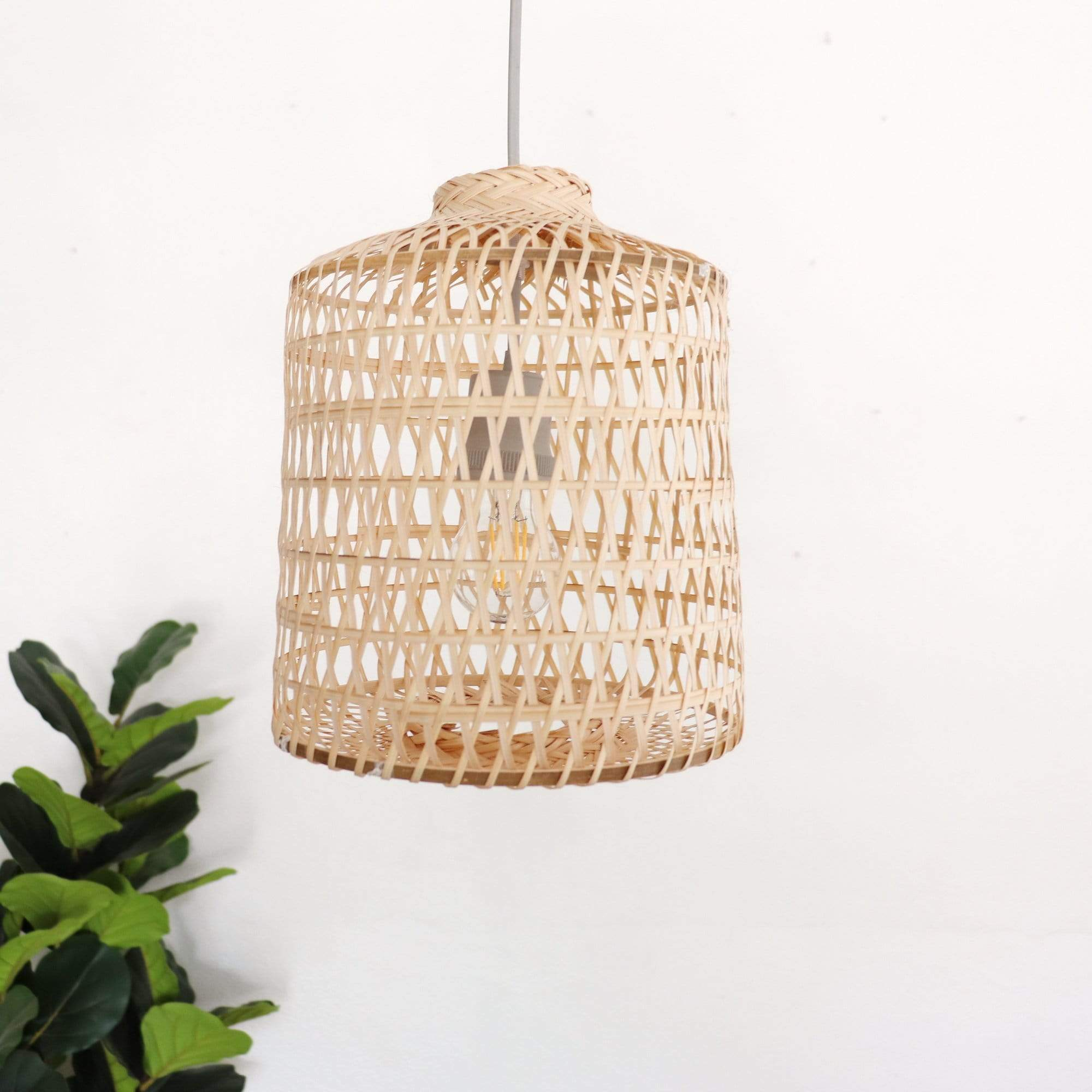 THAIHOMESHOP Bamboo Pendant Light VAREE - BAMBOO PENDANT LIGHT