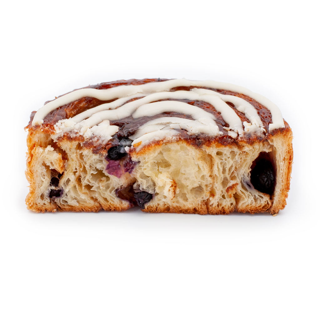 Blueberry Cinnabun Danish