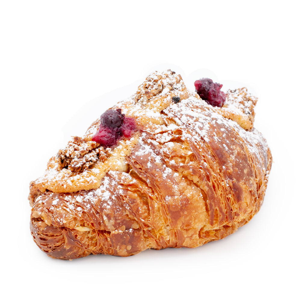 Double-Baked Almond & Mixed Berry Compote Croissant