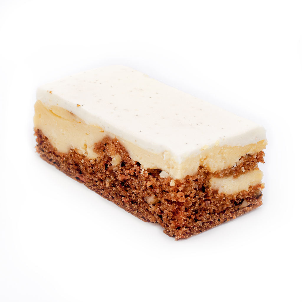 Carrot Cake Cheese Cake Slice
