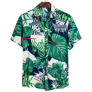 new men's summer Hawaiian beach resort