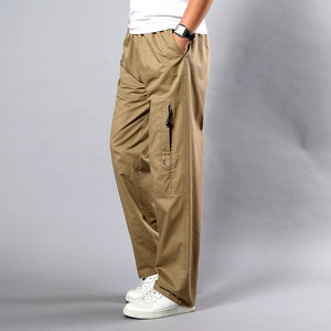 Large Size Straight Fit Big Sizes Pants