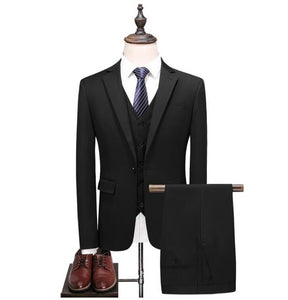 Wedding Suits Casual Male Blazer Suit