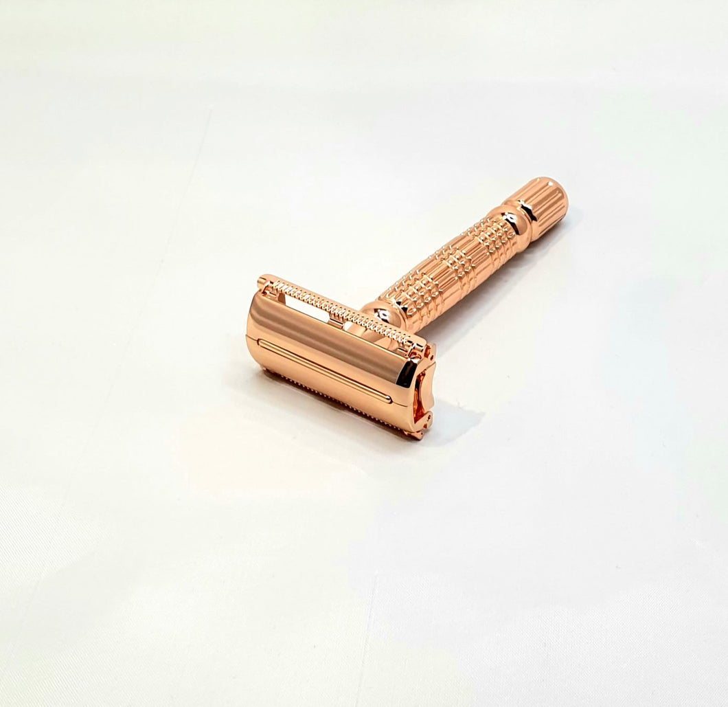 Bare & Co. - Butterfly Safety Razor - Rose Gold Bare & Co. - The Well Store