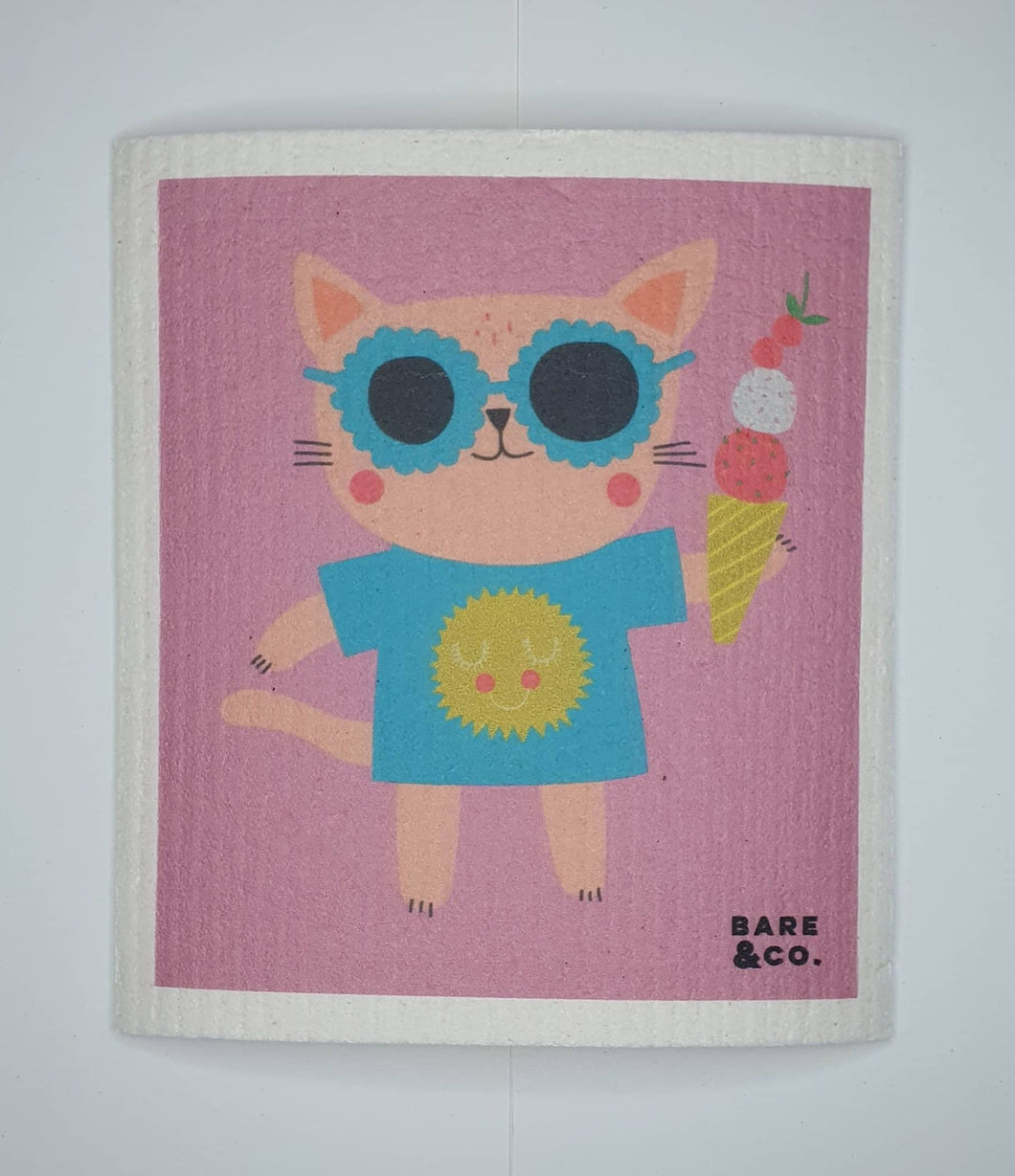 Reusable Cellulose Cloth - Cool Kat