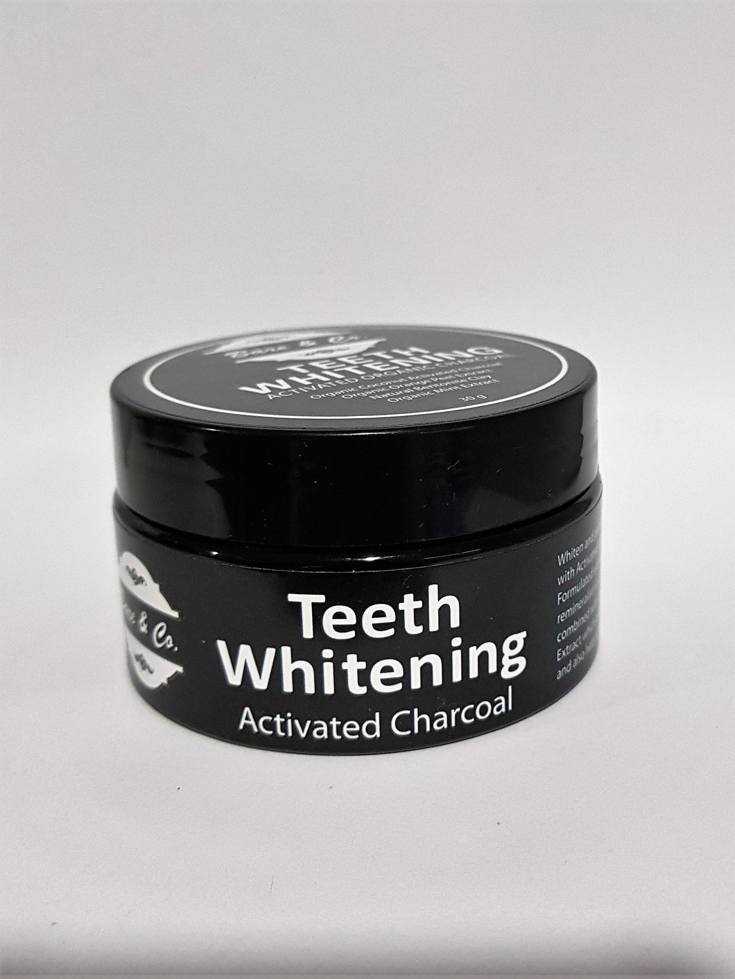 Bare & Co. - Activated Charcoal Teeth Whitening Powder (30g) Bare & Co. - The Well Store
