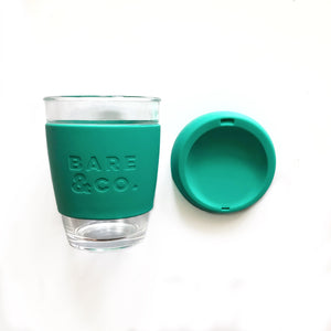 Bare & Co. - Reusable Coffee Cup - Green (12oz/340ml) Bare & Co. - The Well Store