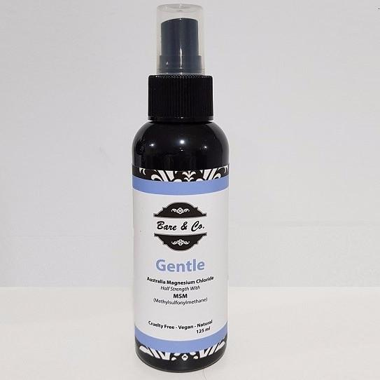 Bare & Co. - Organic Magnesium Spray - Gentle (125ml) Bare & Co. - The Well Store