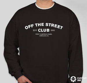 OTSC Crewneck Sweatshirt - Black